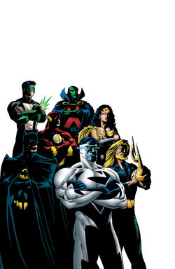 JLA Secret Files and Origins 1 textless