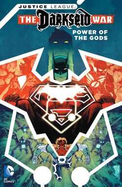 Cover for the Justice League: Darkseid War - Power of the Gods Trade Paperback