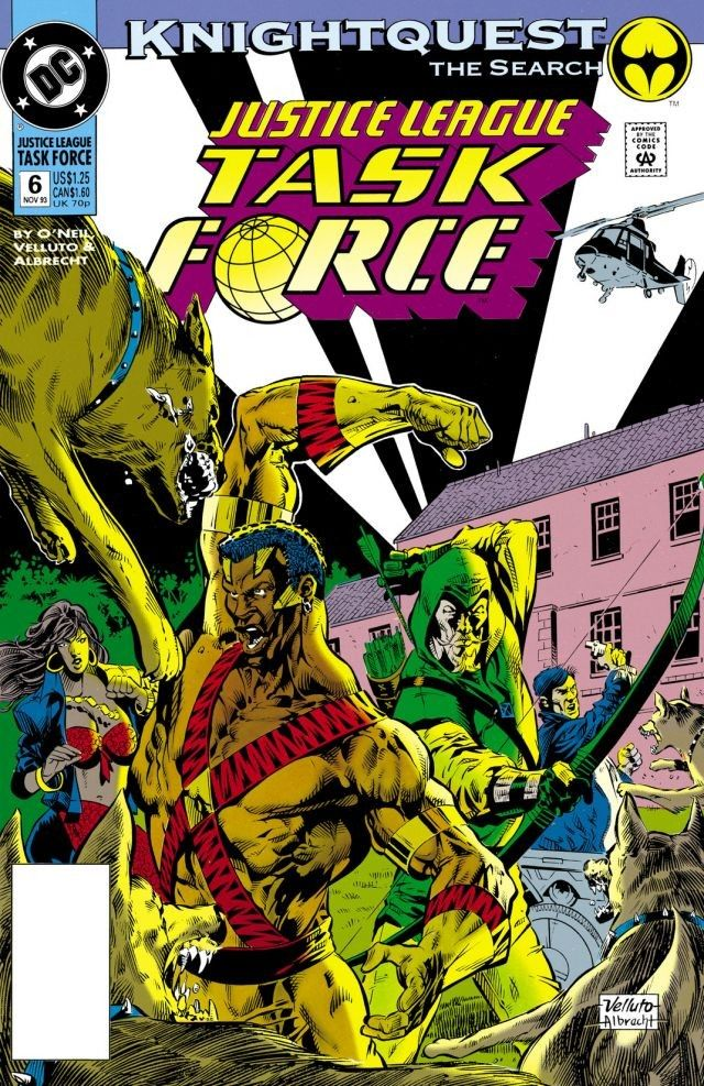 Justice League Task Force Vol 1 6 Dc Database Fandom