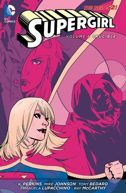 Cover for the Supergirl: Crucible Trade Paperback