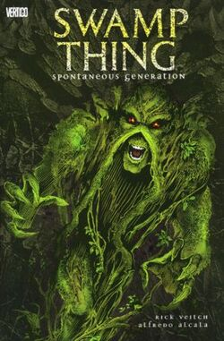Cover for the Swamp Thing: Spontaneous Generation Trade Paperback