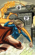 Supergirl fights the Worldkillers