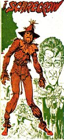 Scarecrow's early costume