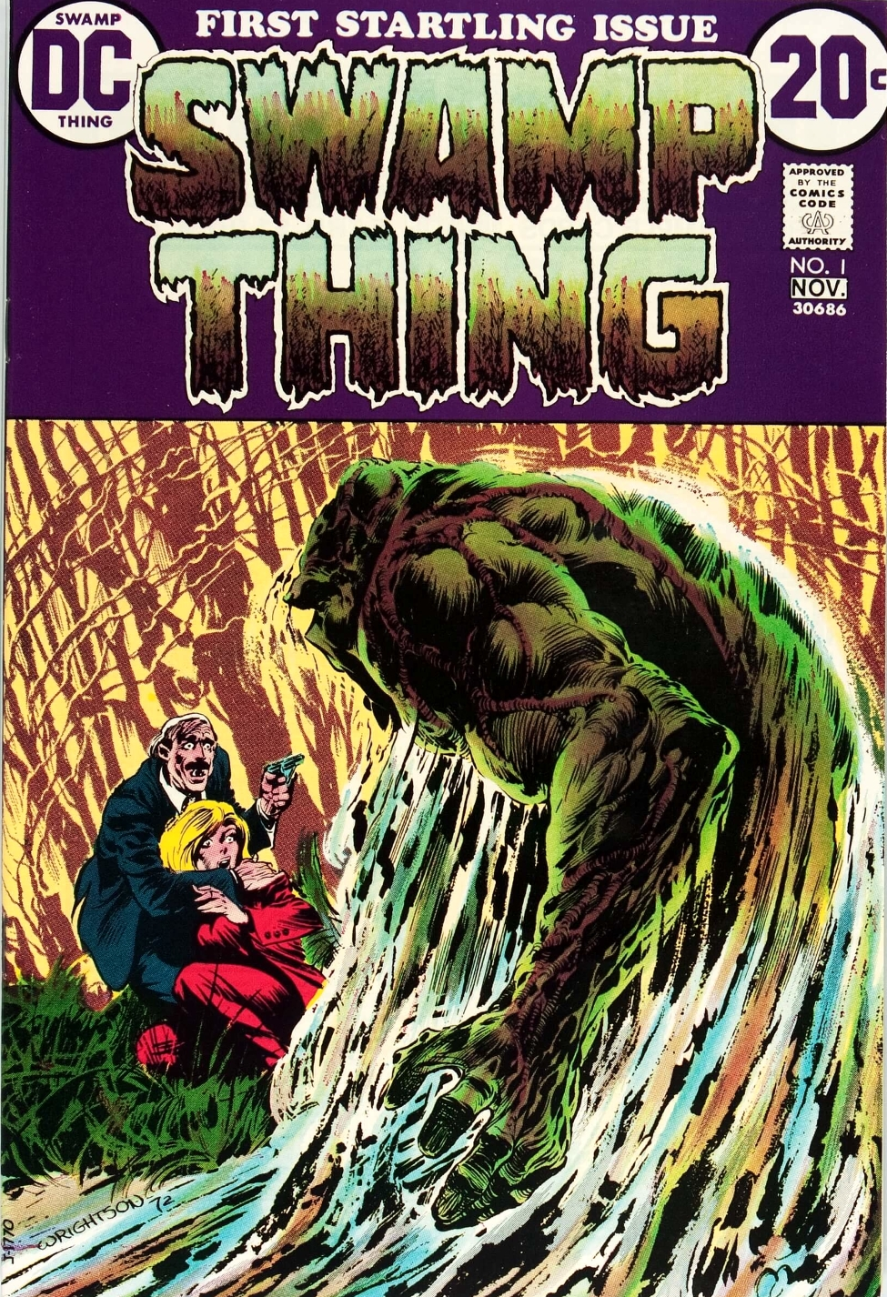 1 Thing Vol by powered 1 Database | DC Swamp | Wikia FANDOM