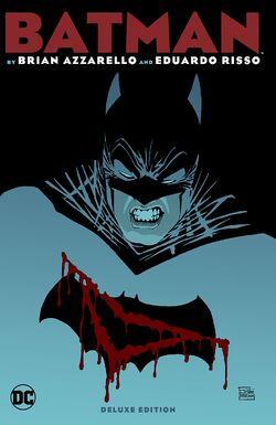 Cover for the Batman by Brian Azzarello & Eduardo Risso Deluxe Edition Trade Paperback