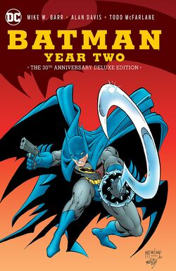Cover for the Batman: Year Two - 30th Anniversary Deluxe Edition Trade Paperback