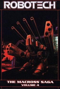Cover for the Robotech: The Macross Saga Vol. 4 Trade Paperback