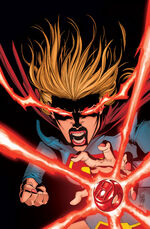 A Red Ring finds Supergirl