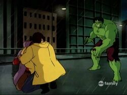 Hulk Sees Mexican Family