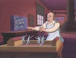 Puppet Master Controls Prison Riot