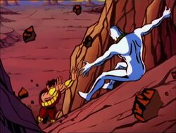 Silver Surfer Sees Pip Fall