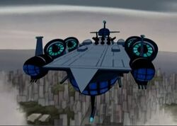 SHIELD Helicarrier AEMH