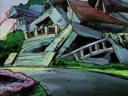 X-Men Mansion Destroyed