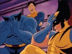 Beast Morph Laugh At Wolverine