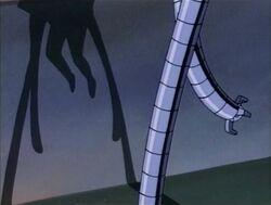 Doctor Octopus Shadow Outside Hardy Estate