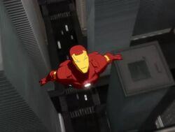 Iron Man Flies IMAA