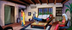 Bungalow 12 Living Room