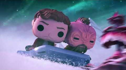 Marvel Funko Presents Cosmic Sleigh Ride