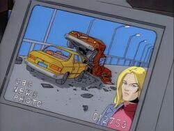 Carol Mystique Car Wreck