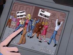 Danvers Anti-Mutant Protest