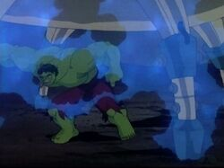 Hulk Punches Containment Unit
