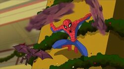 Spidey Fights Bats SSM