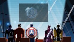 Avengers See Earth Surrounded AEMH