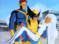 X-Men Save Drake Base