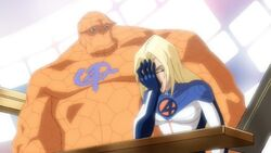 Invisible Woman Embarrassed By Memory FFWGH