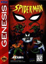 Spider-Man 1995 Video Game Sega Genesis