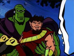 Drax Pip Reunite With Silver Surfer
