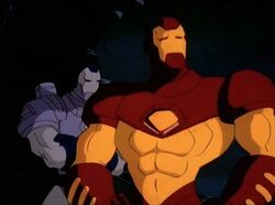 Iron Man War Machine Defeat Hulkbusters