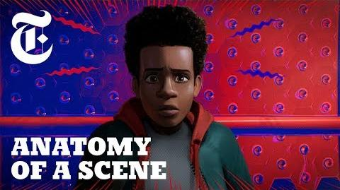 New York Times Anatomy of a Scene Into the Spider-Verse