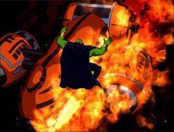 Drax Mentor Ship Fire