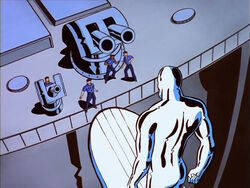 Silver Surfer Meets Humans
