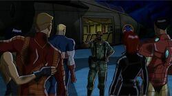 Fury Berates Avengers UA