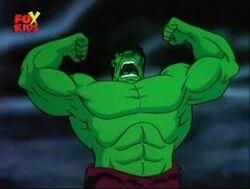 Green Hulk Emerges