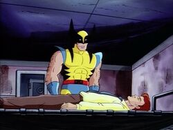Wolverine Finds Scott in Morlock Cell