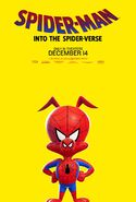 Spider-Man Into the Spider-Verse Spider-Ham Poster