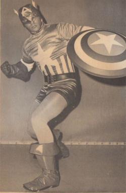 Arthur Pierce as Captain America