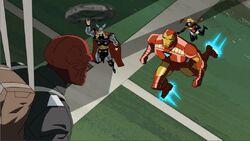 Avengers Capture Red Skull AEMH