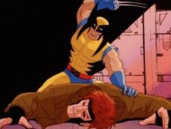 Wolverine Beats Gambit