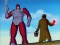 Gambit Confronts Genosha Sentinel.jpg
