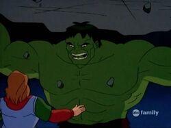 Hulk Threatens Rick