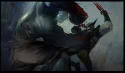 Hulk vs Wolverine Concept