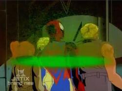 Spider-Man Scanned by Rebels