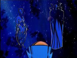 Uatu Meets Eternity Infinity