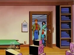 Peter Sees Counter-Earth Room