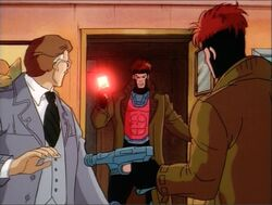 Gambit Confronts Mystique