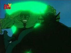 Hulk Tackles Abomination Misses Blast